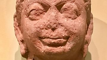 Head of a Jain Tirthankara