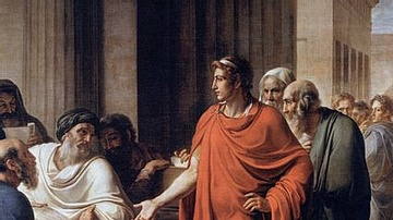 Ptolemy II Philadelphus Founds the Library of Alexandria