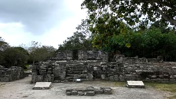 Maya Ruins of San Gervasio on Cozumel