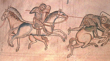 William Marshal Fighting Baldwin Guisnes