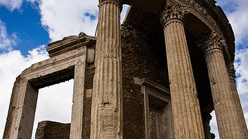 Temple of Vesta, Tivoli