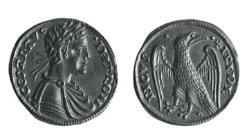 Coin of Holy Roman Emperor Frederick II