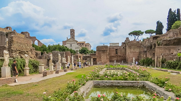 House of the Vestal Virgins, Roman Forum