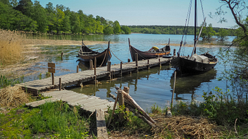 Viking Boats at Birka