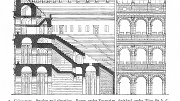 Colosseum Cross-Section