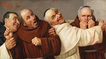 Four Monks by Rinaldi