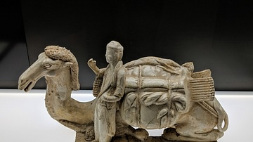 Camel with Guide, Tang Dynasty