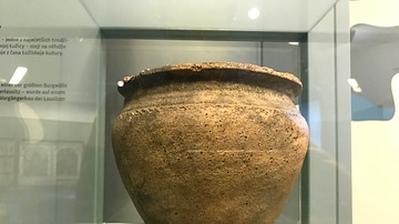 Late Slavonic Clay Pot