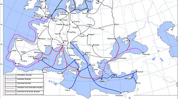 Late Medieval Land & Maritime Trade Routes