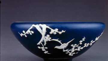 Ming Blue Porcelain Bowl