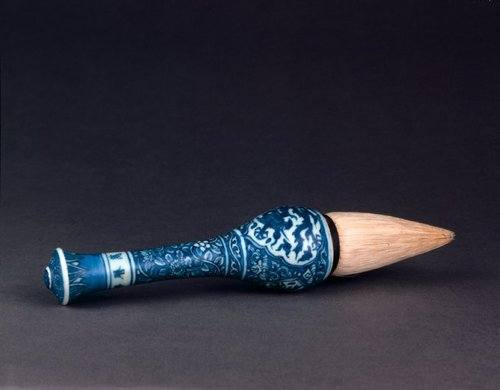 Ming Porcelain Brush Handle