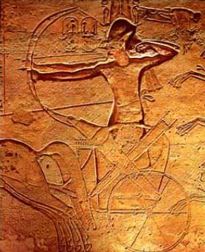 Ramesses II at The Battle of Kadesh