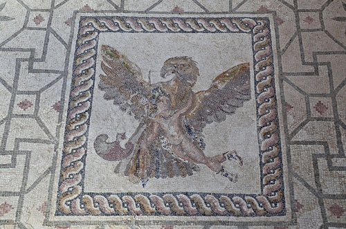 Rape of Ganymede Mosaic