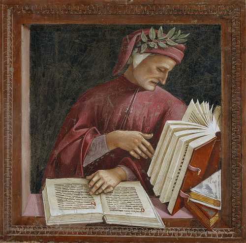 Dante Alighieri by Signorelli (by Georges Jansoone, CC BY-SA)
