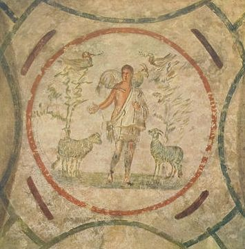 The Good Shepherd, Catacombs of Priscilla