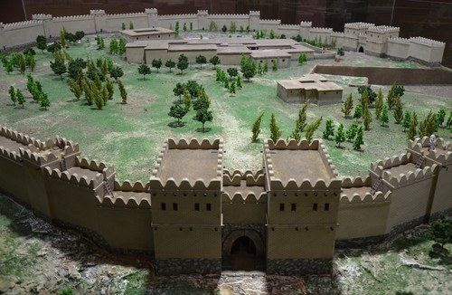Model of Alacahöyük in the Hittite Period