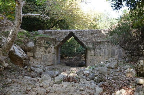 Hellenistic Bridge at Eleutherna, Crete