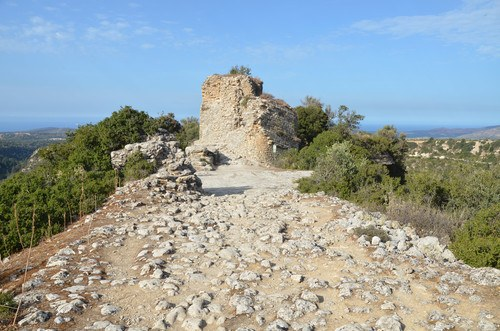 Hellenistic Tower at Eleutherna, Crete