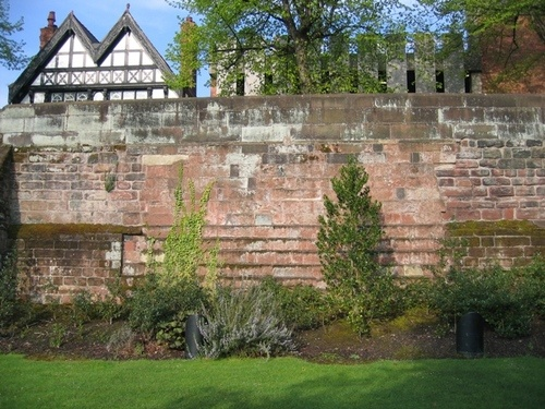 Chester Walls: Civil War Damage