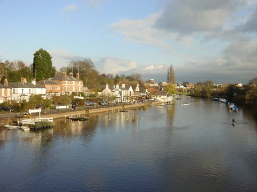The River Dee in Chester
