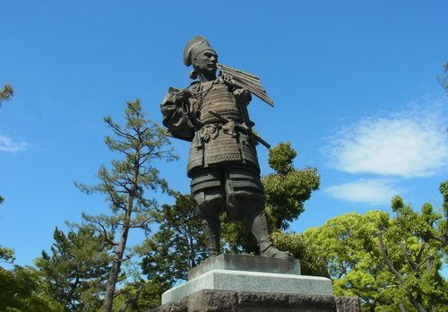Statue of Oda Nobunaga (by Bariston)