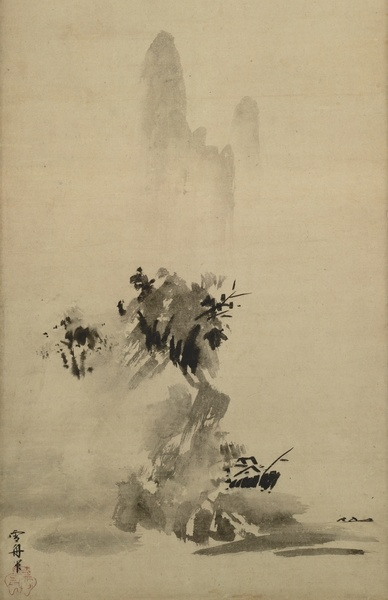 Landscape by Sesshu