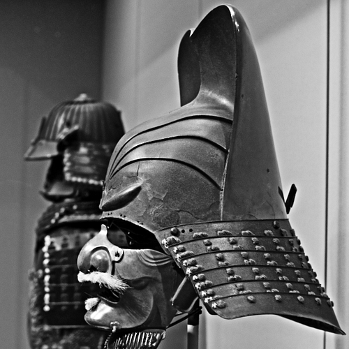 Samurai Helmet (by Min Lee, CC BY-NC-ND)