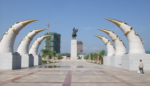 Monument of Genghis Khan, Hohhot
