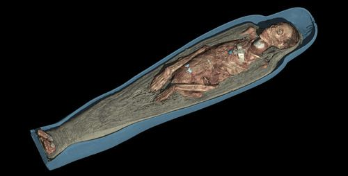 Visualization of the Body of Tamut