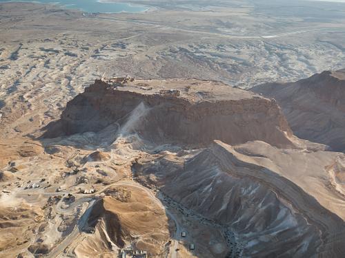 Masada (by Dany Sternfeld, CC BY-NC-ND)