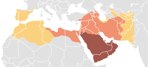 Expansion of Early Islamic Caliphates
