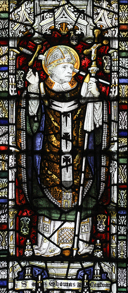 Thomas Becket, Durham (by Lawrence OP, CC BY-NC-SA)
