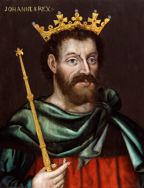 King John of England (by National Portrait Gallery, CC BY-NC-ND)