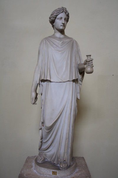 Greek Peplos Dress