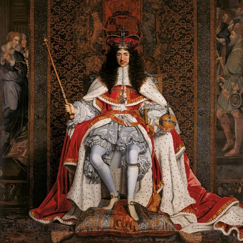 Charles II of England & Royal Regalia