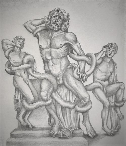 Impression of the Laocoön Group