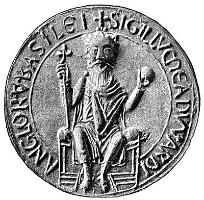 Seal of Edward the Confessor (by Unknown Artist, Public Domain)