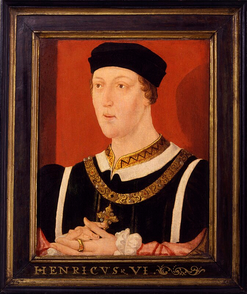 Portait of Henry VI of England (by National Portrait Gallery, CC BY-NC-ND)