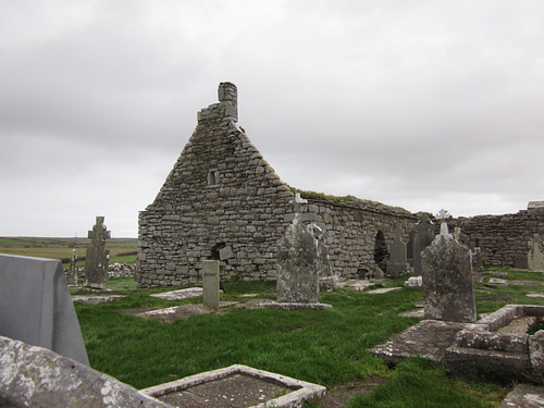 Killilagh Church, Doolin, Ireland