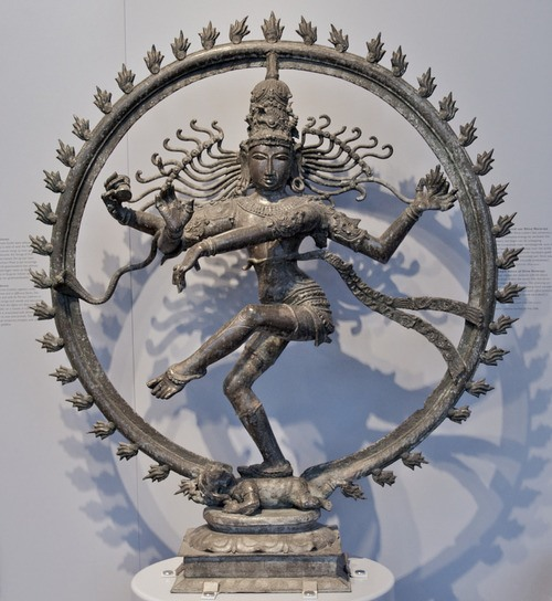 Shiva Nataraja (Lord of the Dance) (by Peter F, CC BY-SA)