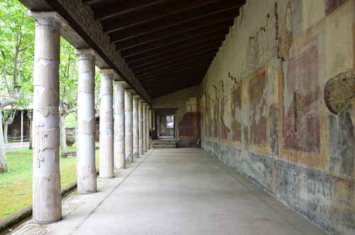 Portico of the Peristyle of Villa San Marco, Stabiae