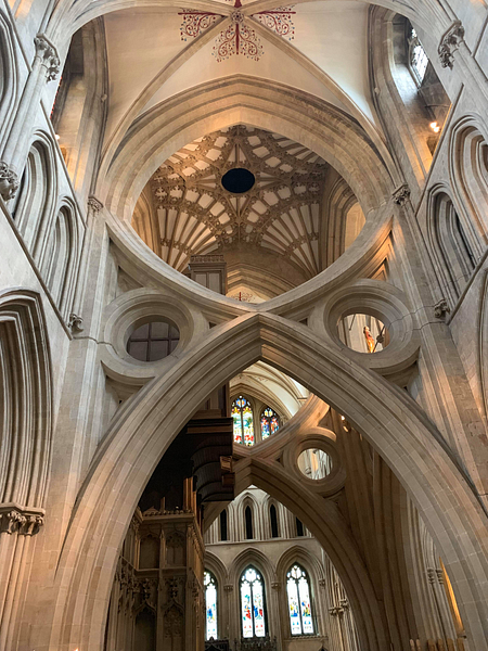 The Scissor Arches, Wells Cathedral