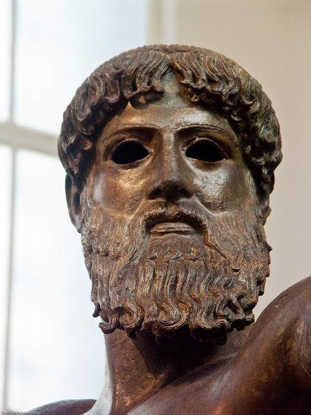 Head of Zeus, Artemesium Bronze (by Robert H.Consoli)