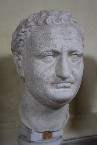 Titus Bust, Vatican Museums (by Mark Cartwright, CC BY-NC-SA)
