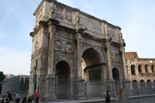 Arch of Constantine I (South Side)