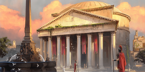 Artist's Impression of the Pantheon