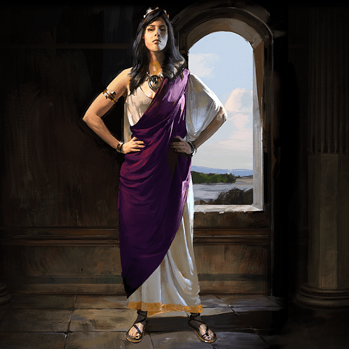 Dido of Carthage (Artist's Impression) (by Mohawk Games, Copyright)
