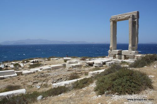 Temple of Apollo, Naxos (by Mark Cartwright, CC BY-NC-SA)