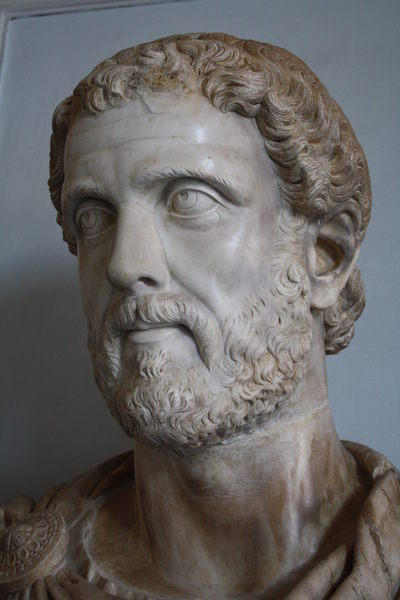 Bust of Antoninus Pius (by Mark Cartwright, CC BY-NC-SA)