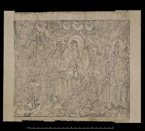 Chinese Diamond Sutra (by International Dunhuang Project, Public Domain)